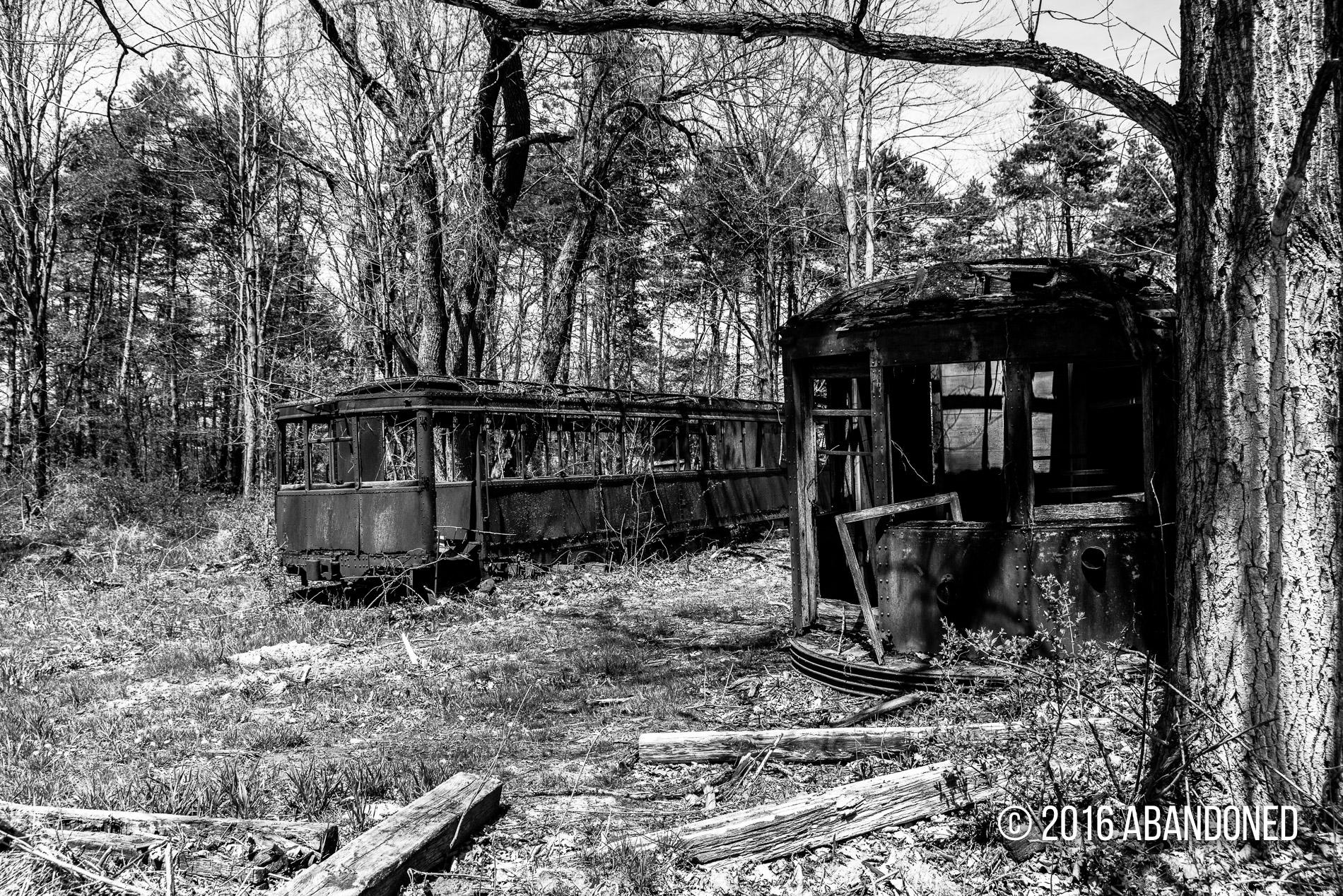 Lake Shore Electric Railway Cars Abandoned By Sherman Cahal