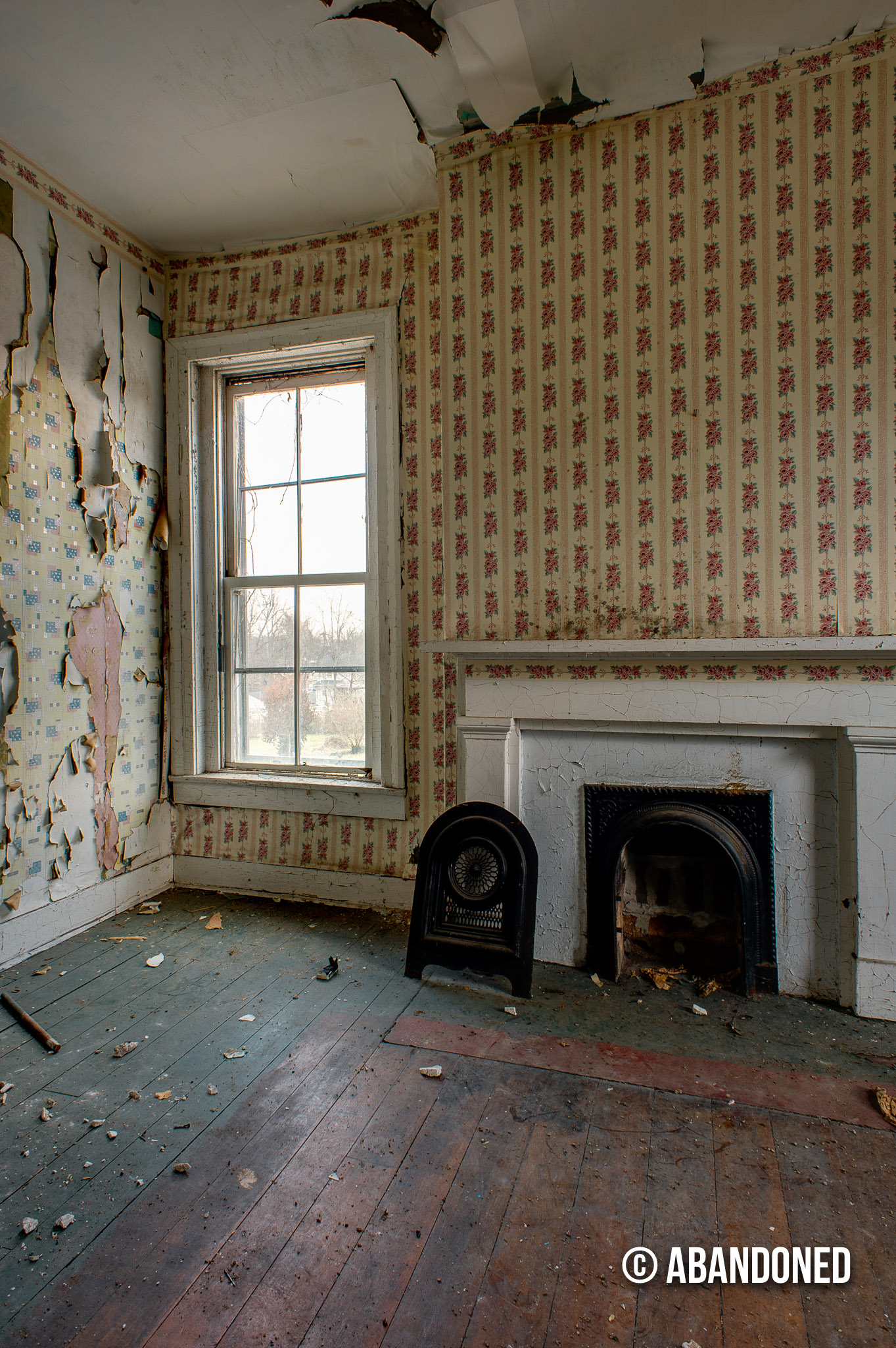 fisher byington house abandoned by sherman cahal
